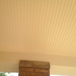 New porch bead board ceiling