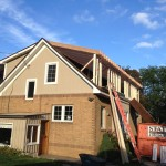 New dormer addition framing in Brookfield